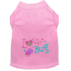 Dog Shirt - Love Bug - Small to Large Dogs - dog-collar-fancy