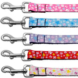 Butterflies printed dog leash