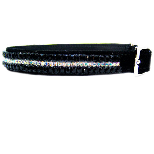 Midnight Mystery Crystal Pet Collar - For dogs and cats - dog-collar-fancy