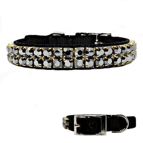 Mirror Mirror crystal pet collar for dogs and cats