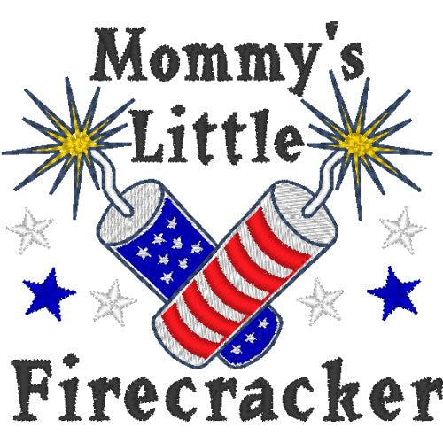 Mommy's Little Firecracker Dog Shirt - Small to Large Dogs - dog-collar-fancy