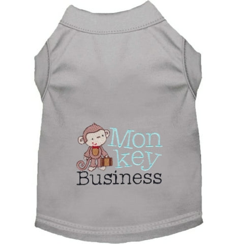 Monkey Business Dog Shirt - Small to Large Dogs - dog-collar-fancy
