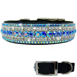 Mystical Bling Bling Dog Collar - For medium to large dogs - dog-collar-fancy
