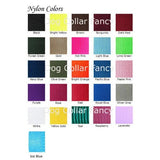 Collar color chart
