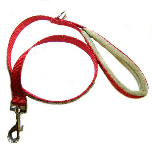 Padded handle dog leash for the comfort of your hand.