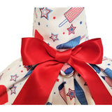 patriotic popsicle dog dress close up
