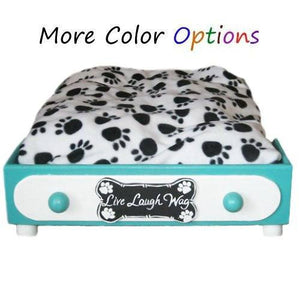 Custom Platform Pet Bed - For dogs and cats - dog-collar-fancy
