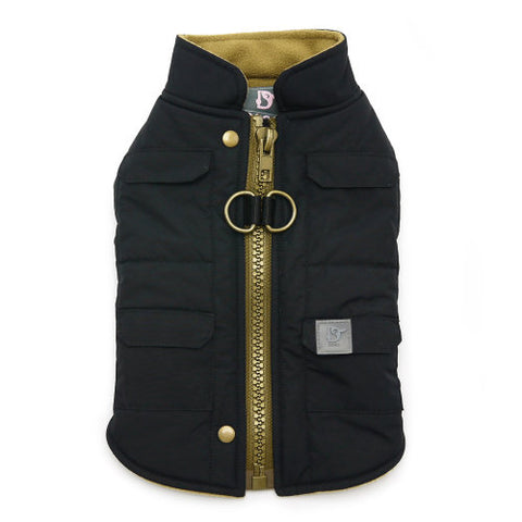 Warm Winter Dog Coat with Pockets