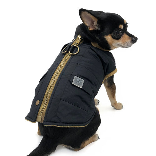 Winter Dog Coat with Pockets - Dog Collar Fancy - dog-collar-fancy