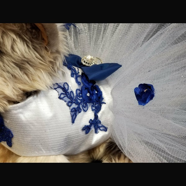 Royal Princess Swarovski Dog Dress - Tiny to large dogs - dog-collar-fancy