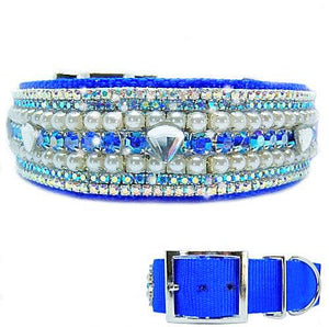 Simply Fabulous Designer Dog Collar - dog-collar-fancy