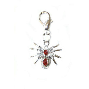 Sparkle Spider Pet Charm - dog-collar-fancy