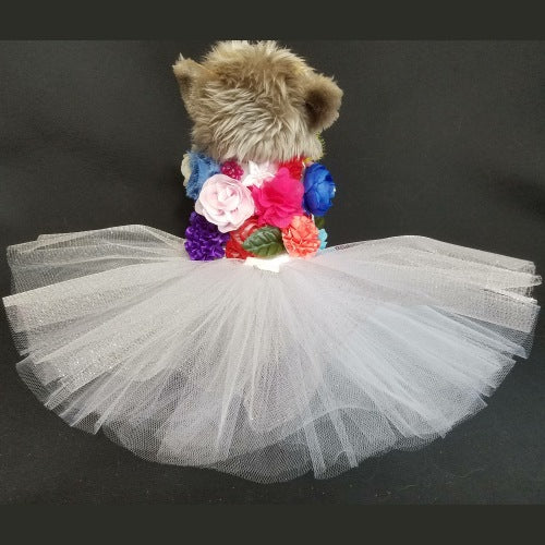 The Flower Bouquet Dog Dress - For small to large dogs - dog-collar-fancy