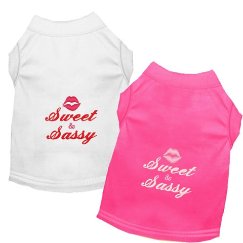 Dog Shirt - Sweet and Sassy