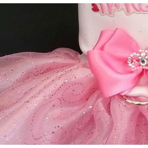 My Sweet Princess Dog Dress - dog-collar-fancy