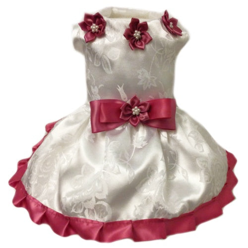 Sweet Thing Dog Dress - Tiny to large dogs - dog-collar-fancy