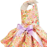 Tea Time Floral dog dress for small to large dogs