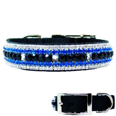Mr Cool Crystal Boy Dog Collar