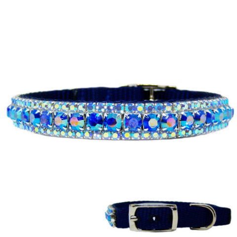 The Flashy Pooch Crystal Jeweled Pet Collar