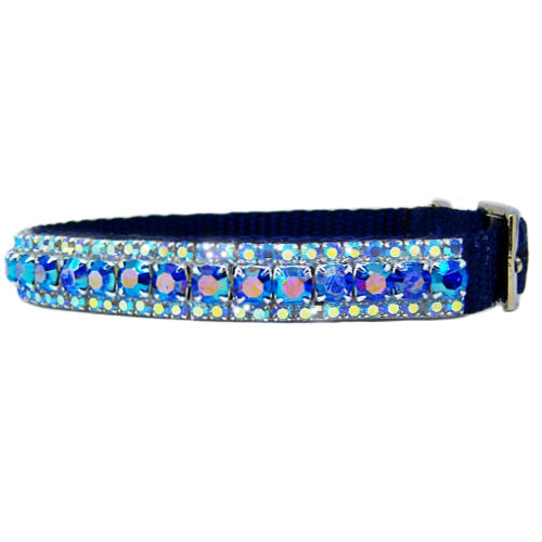 The Flashy Pooch Crystal Pet Collar - For dogs and cats - dog-collar-fancy