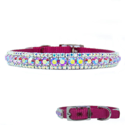 Ultimate Beauty Crystal Pet Collar - For small dogs and cats - dog-collar-fancy