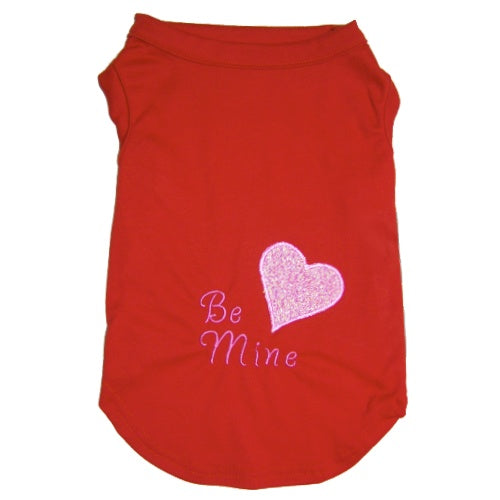 Valentine Dog Shirt Be Mine - Small to Large Dogs - dog-collar-fancy