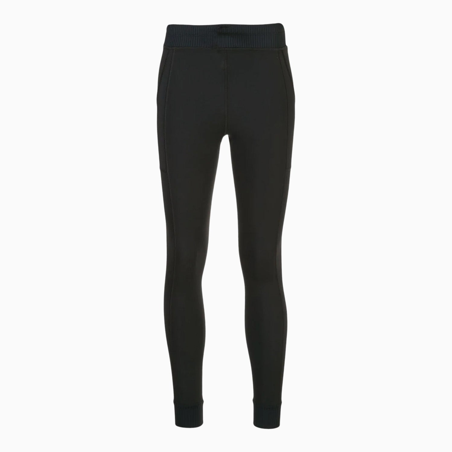 Black Jersey Leggings