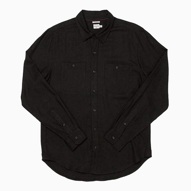 Charcoal Flannel Shirt