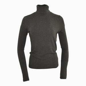 Essential Roll Neck - Charcoal