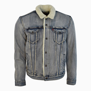 Stonebridge Denim Sherpa Trucker