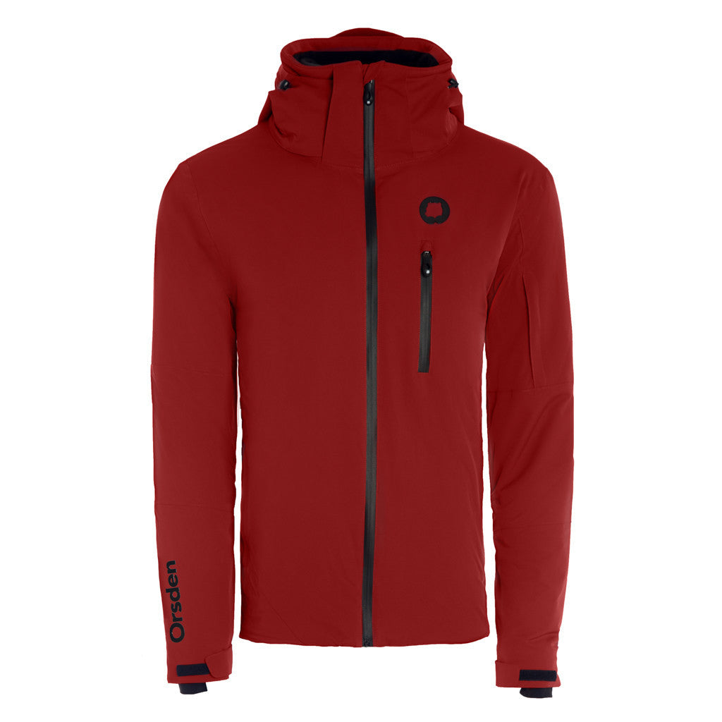 Orsden Men's Slope Jacket Red