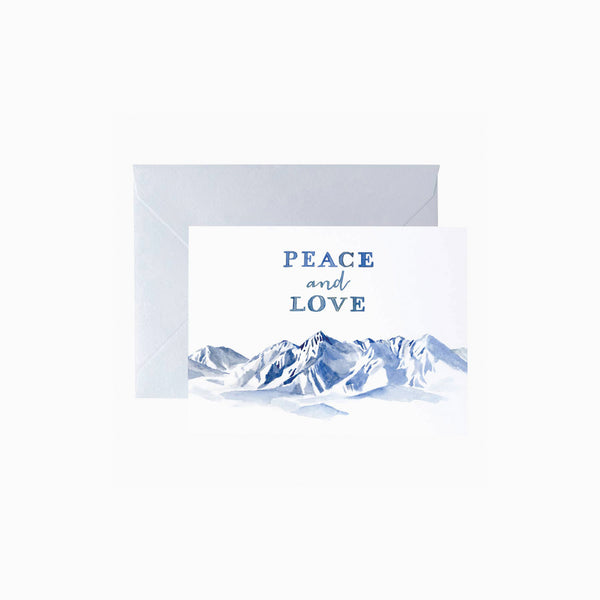 Peace and Love Card