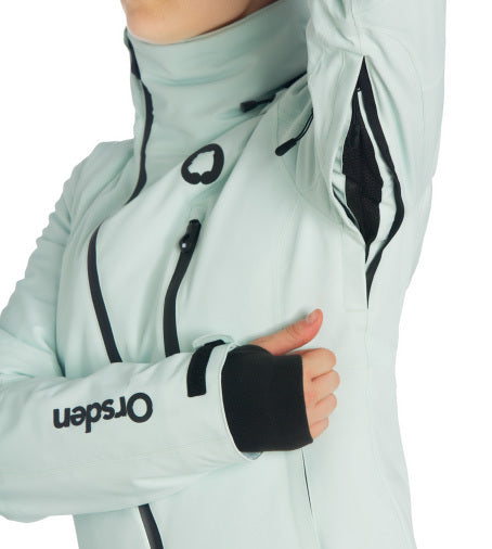 Orsden zipper vent under sleeve