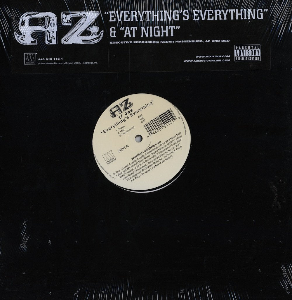AZ - Everything's Everything/At Night (12