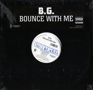 "B.G. - Bounce With Me (Single) 12"" Vinyl"