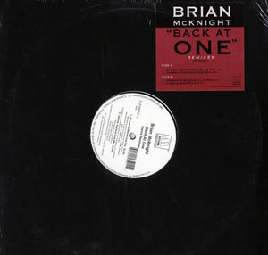 "Brian McKnight - Back At Once (Remixes) 12"" Vinyl"