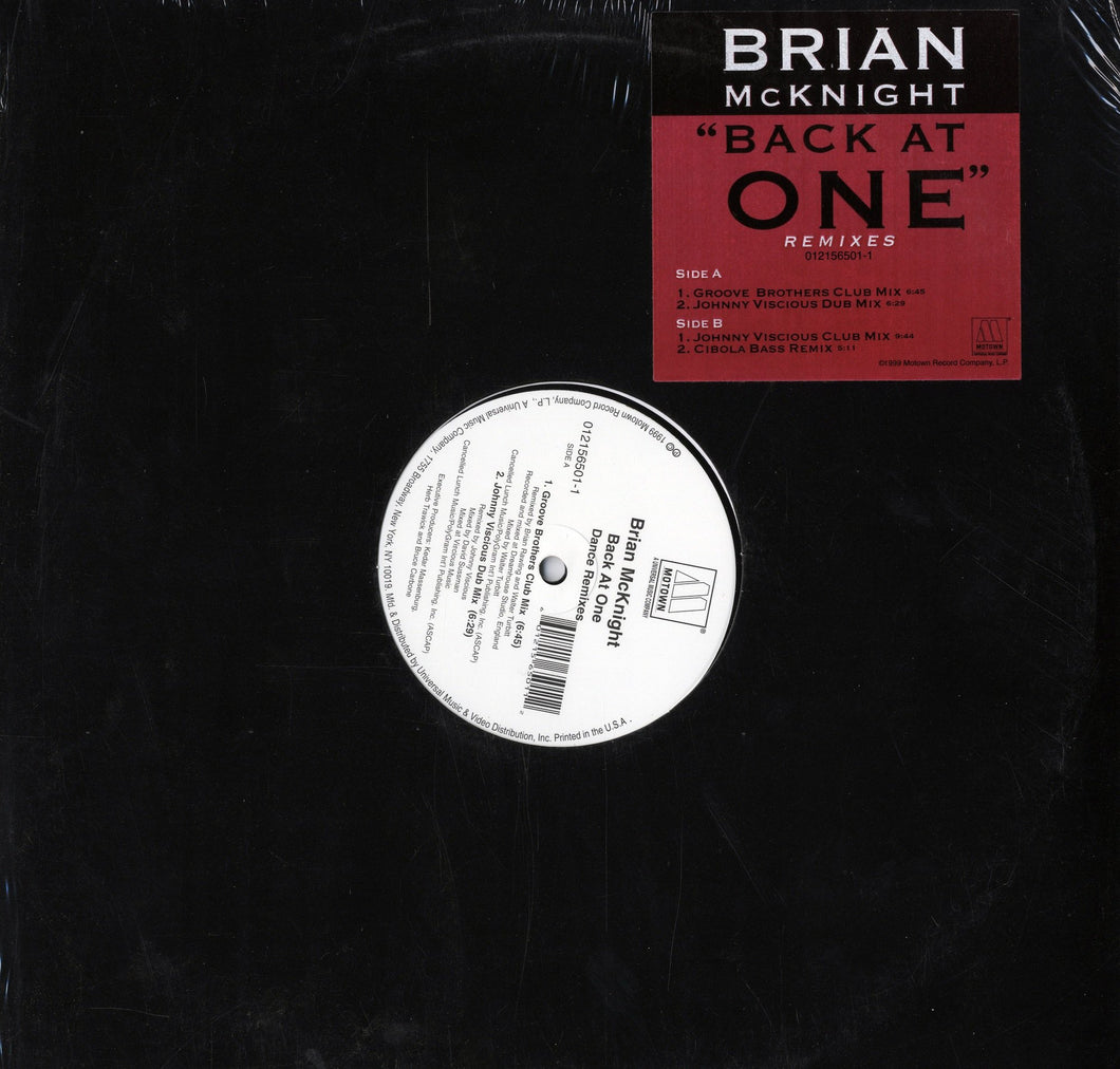 Brian McKnight - Back At Once (Remixes) [12