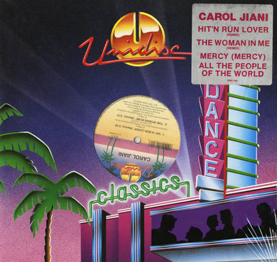 Carol Jiani - Hit 'N Run Lover/The Woman In Me/Mercy/All The People Of The World (12