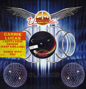 "Carrie Lucas - I Gotta Keep Dancin'/Dance With You 12"" Vinyl"