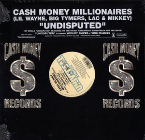 "Cash Money Millionaires - Undisputed (Single) [12"" Vinyl]"