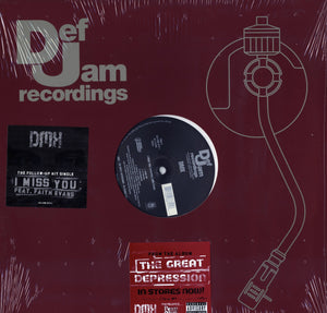 "DMX - I Miss You/Number 11 12"" Vinyl"