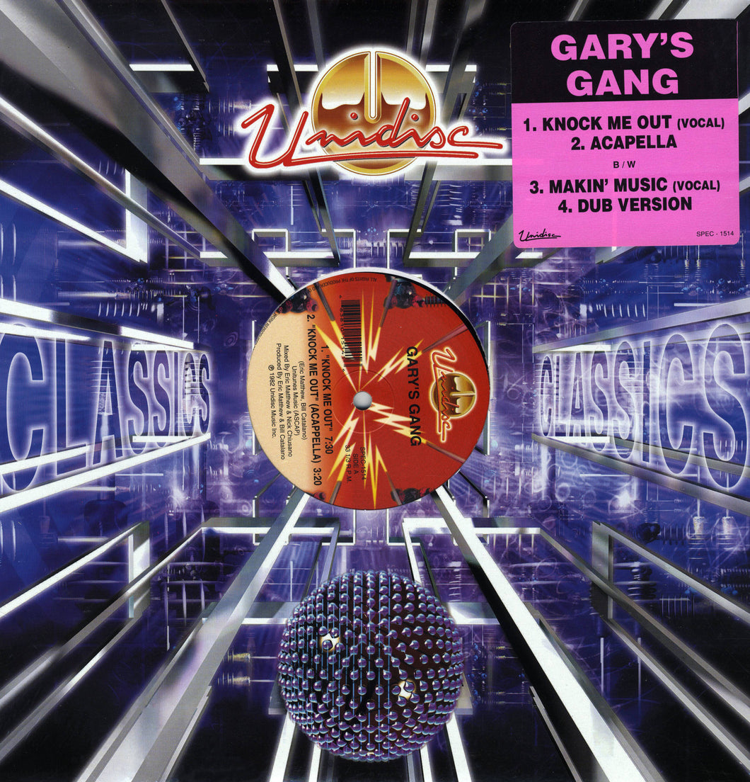 Gary's Gang - Knock Me Out/Makin' Music (12