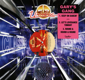 "Gary's Gang - Keep On Dancin'/Let's Lovedance Tonight & Round and Round and Round 12"" Vinyl"