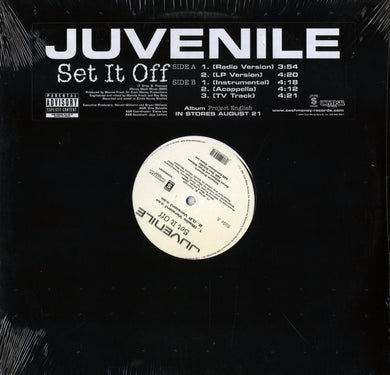 Juvenile - Set It Off (Single) 12