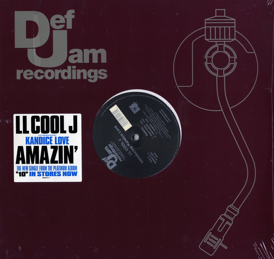 LL Cool J introducing Kandice Love - Amazin'/Born To Love You (12