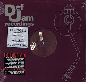 "LL Cool J - Imagine That/LL Cool J 12"" Vinyl"