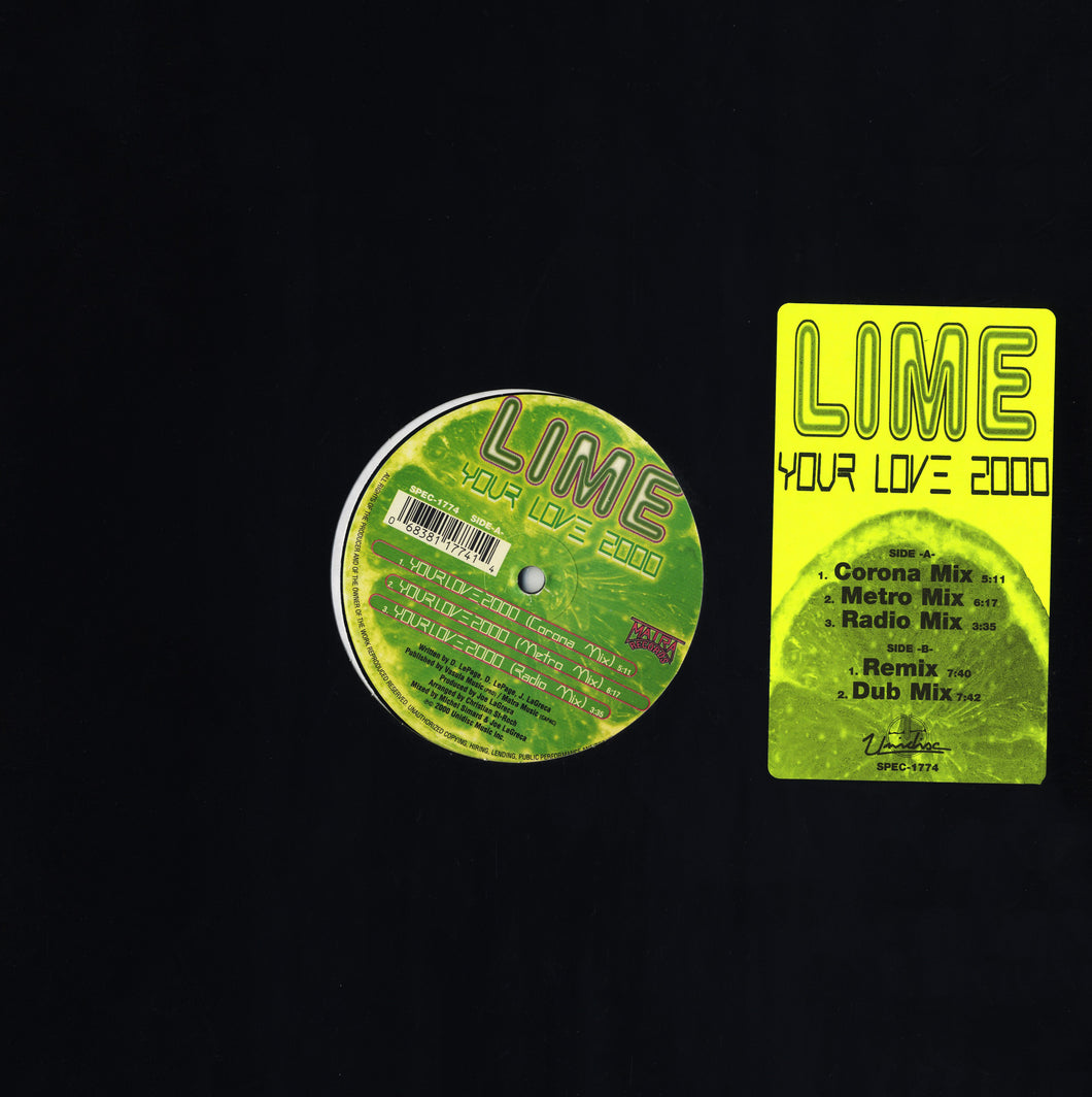 Lime - Your Love 2000 (12
