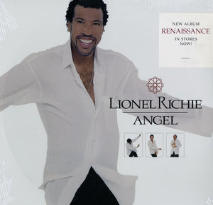 "Lionel Richie - Angel (Remixes) 12"" Vinyl"