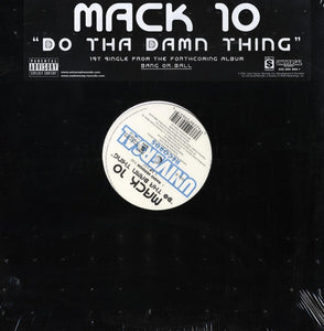 "Mack 10 - Do Tha Damn Thing (Single) 12"" Vinyl"