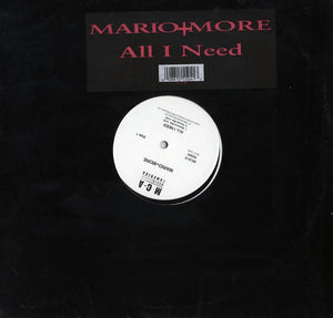 "Mario + More - All I Need (Single) 12"" Vinyl"